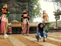 Traditionell Balinesedansare Royaltyfri Fotografi