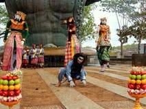 Traditionell Balinesedansare Royaltyfria Bilder