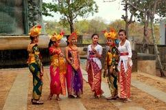 Traditionell Balinesedansare Royaltyfri Bild