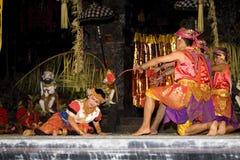 traditionell balinesedansare Arkivfoton