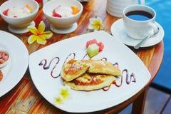 Traditionell Balinesefrukost Royaltyfri Bild