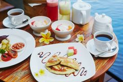 Traditionell Balinesefrukost Royaltyfri Fotografi