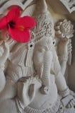 Traditionell BalineseGanesha skulptur i Ubud Arkivfoto