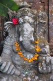 Traditionell Balineseskulptur i Ubud Arkivbild