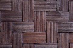 Traditionell bambu som vävas från Indonesien royaltyfria bilder
