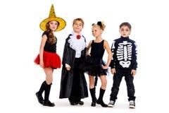 Traditionell barndom halloween Arkivfoton