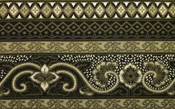 Traditionell batikmodell Royaltyfria Foton