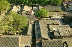 traditionell beijing porslinhutong Arkivfoton