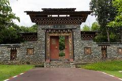 Traditionell bergskamarkitektur Royaltyfria Bilder