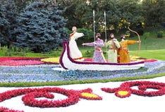 traditionell blomma för 56 utställning Arkivfoto