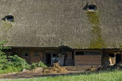 Traditionell bondgård för svart skog Royaltyfri Fotografi
