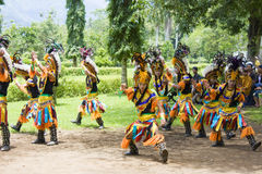 traditionell borobudurdans Arkivbilder