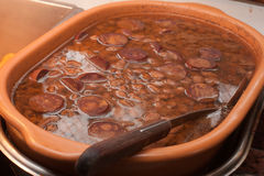 Traditionell brasilian Feijoada royaltyfria foton