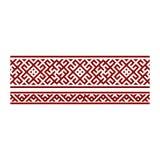 Traditionell broderi Vektorillustration av etniska sömlösa dekorativa geometriska modeller för din design Royaltyfri Bild