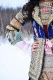 traditionell bulgarian dräkt Royaltyfri Foto