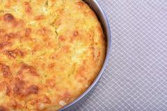 Traditionell bulgarian matbanitsa som är välfylld med ost Arkivfoton
