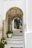 Traditionell byggnad i Tunis Arkivbild