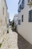 Traditionell byggnad i Tunis Arkivfoton