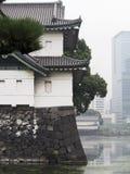 Traditionell byggnad Tokyo Royaltyfri Fotografi