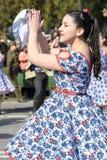 Traditionell chiledans Fotografering för Bildbyråer