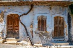 Traditionell creten Dorf Margarites, Kreta, Griechenland stockfoto