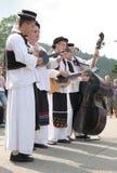 traditionell croatia folk grupp arkivbilder