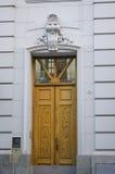 Traditionell dörr som göras av trä Royaltyfri Fotografi