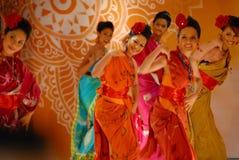 Traditionell dans för Malay royaltyfri bild