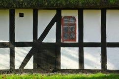 Traditionell dansk stuga Royaltyfri Fotografi