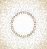 Traditionell design för vektorinbjudankort Royaltyfria Bilder