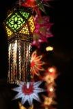 Traditionell Diwali lykta Fotografering för Bildbyråer