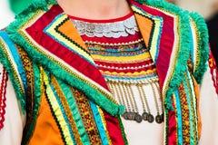 Traditionell dräkt av Ryssland royaltyfri fotografi