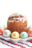 Traditionell easter kaka Royaltyfria Foton