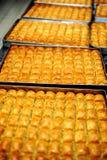 Traditionell efterrättturkBaklava Arkivfoto
