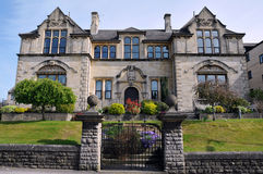 traditionell engelsk herrgård Royaltyfri Bild