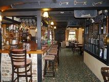 traditionell engelsk pub arkivbild