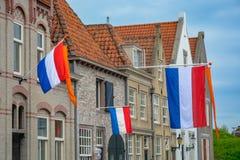 Traditionell födelsedagberöm av konungen av Nederländerna Willem-Alexander, konung \ 'nationell ferie för s-dag på April 27, holl arkivfoto