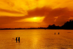 traditionell fiskare Royaltyfria Foton