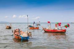 Traditionell fiskebåt Arkivbild