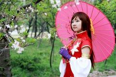 traditionell flicka Royaltyfri Foto