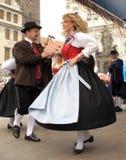 traditionell folkloretysk Arkivbild