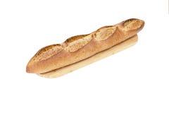 Traditionell fransk bagett Arkivbild