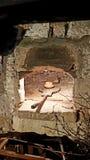 Traditionell franskbrödbakningugn royaltyfria foton