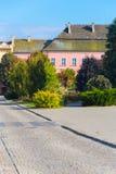 Traditionell gammal stad i Europa royaltyfria bilder