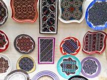 Traditionell hand - gjort objekt, Rumänien Arkivfoto