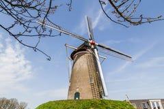 Traditionell holländare Widnmill Royaltyfria Bilder