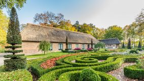 Traditionell holländsk lantbrukarhemplats royaltyfria foton
