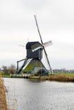 Traditionell holländsk väderkvarn Royaltyfria Foton