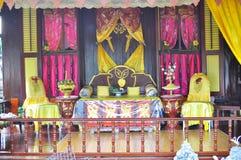 traditionell husmalayuteplats Arkivbild