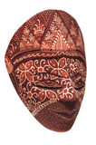 traditionell indonesisk maskering arkivbild
